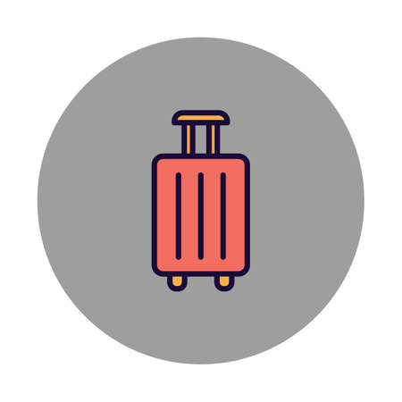 Bag Isolated Vector icon which can easily modify or edit