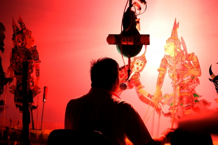 shadow puppet: Shadow play
