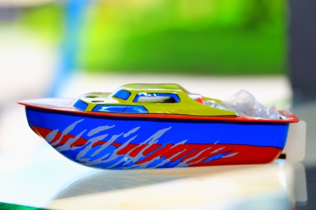 Toy boats photo