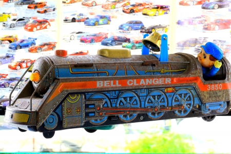 Toy trains photo