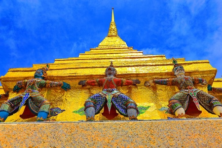 Wat Pra Kaew Thailand photo