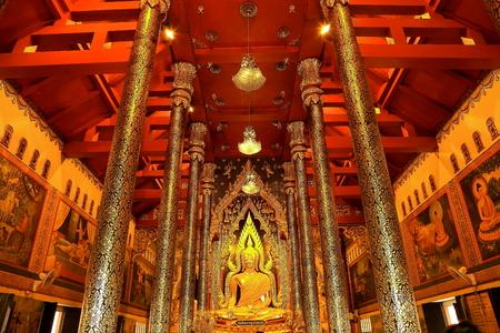 black giant mountain: Buddha  Stock Photo