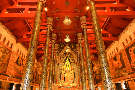 black giant mountain: Buddha statue
