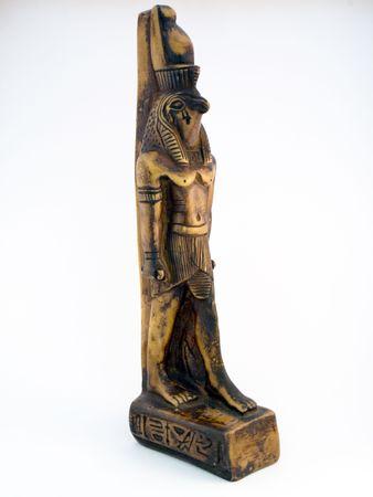 horus: Estatua de Horus Foto de archivo