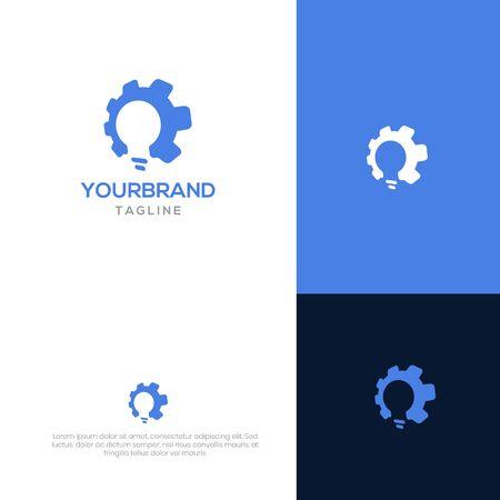 Smart gear logo design