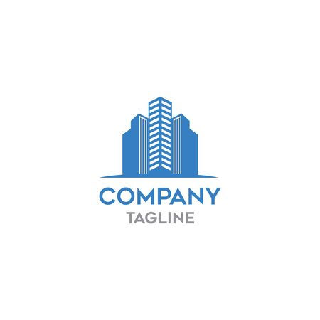 modern town business logo template Illustration