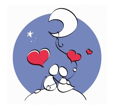 love couple: couple in love