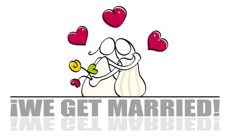 truelove: Carta di nozze lesbiche divertenti