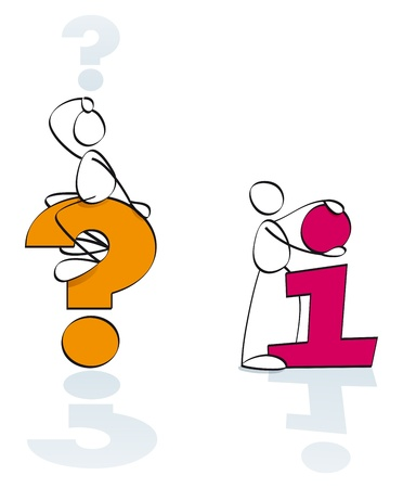 Funny Symbols For Info And Questions Stock Photo Picture And