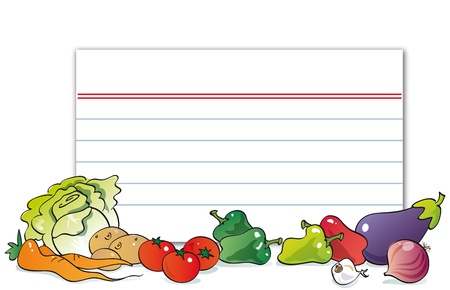 cute vegetables, lettuce, cabbage, potatoes, carrots, tomatoes, peppers, eggplant, garlic, onion,  Stock Photo