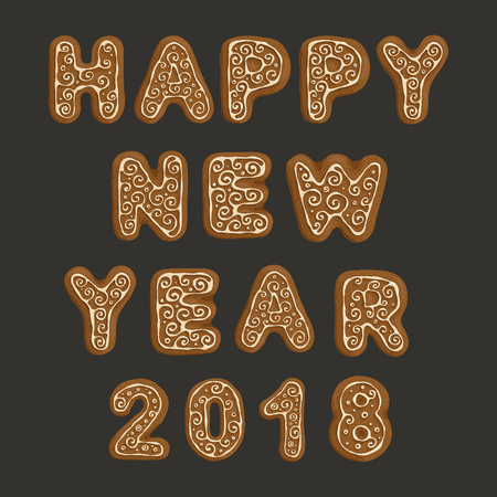 Ginger cookies - Happy New Year 2018