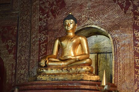 budda: budda in temple of northern thailand