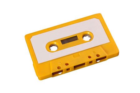 Funnt orange tape from the seventies photo