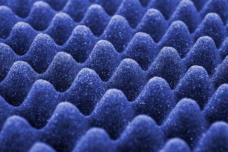 Blue acoustic foam Stock Photo - 3237350