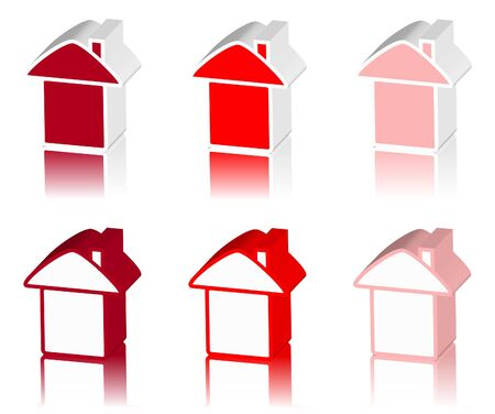 tenancy: red logo of house