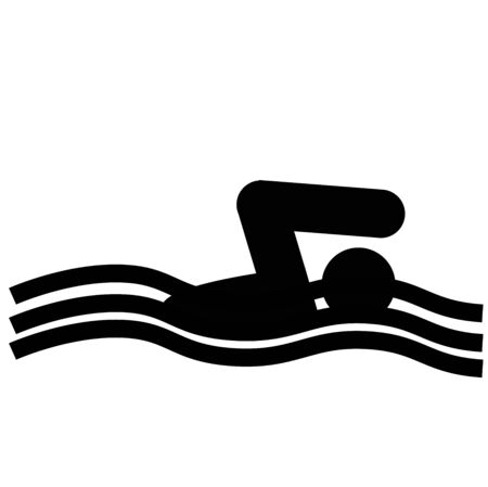 logo of swimming photo