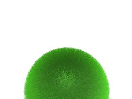 sphere of grass Stock Photo - 3618252