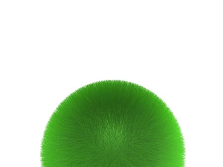 sphere of grass Stock Photo - 3618252