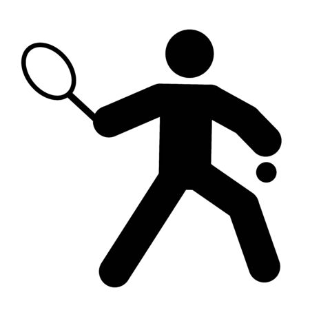 logo of tennis Stock Photo - 3616451