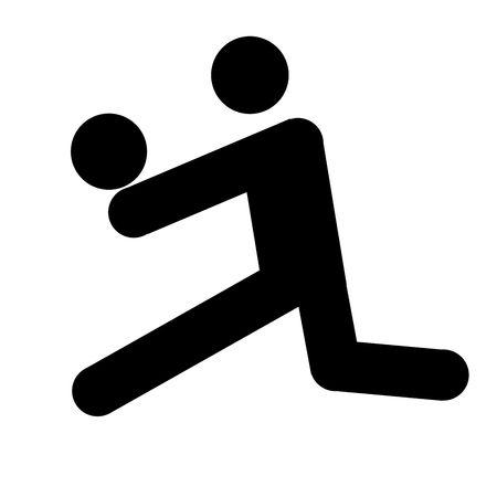 balon voleibol: el logotipo de voleibol