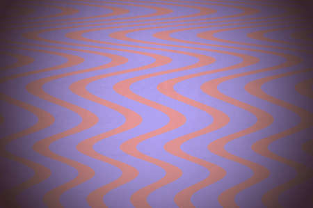 sinusoidal: fantasy floor with purple and pink waves