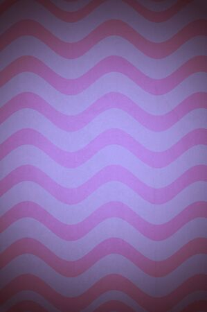sinusoidal: fantasy background with purple and pink waves Stock Photo