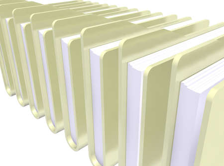 yellows: yellows folders paper icon on white background