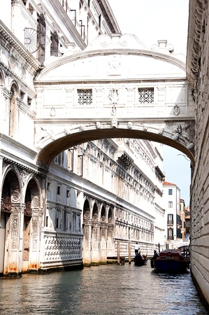 love dome: picture of symbolic place of venice in italy