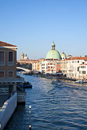love dome: venice the city of doges in italy Stock Photo