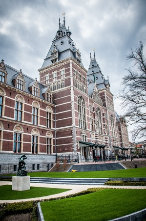 reestablishment: Rijksmuseum in Amsterdam after re-establishment  , Netherlands