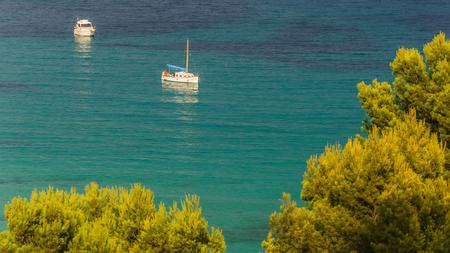 Boats on the sea in Mallorca