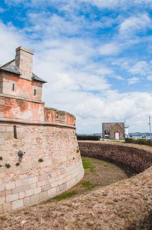 Tour Vauban in Camaret-sur-mer in Brittany Finistère, France