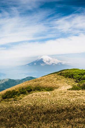 Vu du Mont Fuji au printemps au Japon