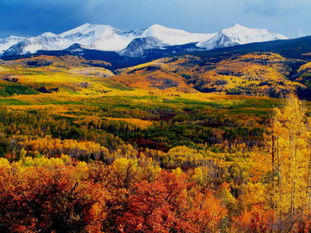 butte: Fall mountains - Crested Butte