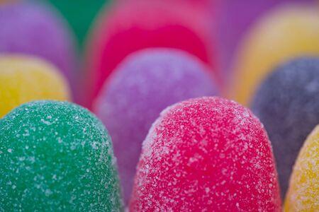Colored gum drops macro. Stock Photo - 7497619