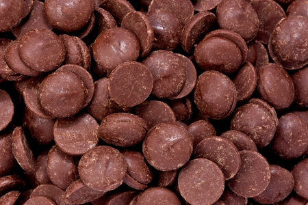 semisweet: Background texture of semi-sweet chocolate chips.