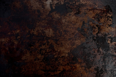 Background texture of grease stained metal.