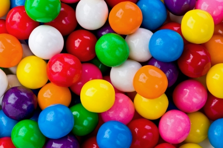gumballs: background texture of several colored gumballs.