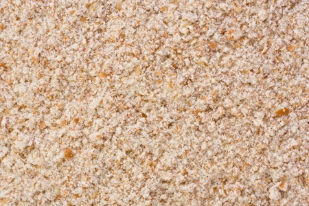 Background texture of whole wheat flour