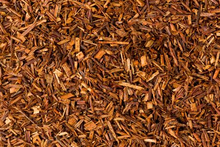 Background texture of rooibos, or bush tea