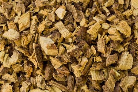 Background texture of dried Licorice root. Stok Fotoğraf