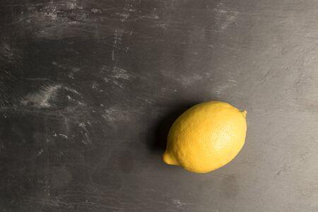 Lemon on Slate Reklamní fotografie