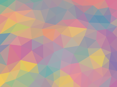 Triangulation abstract colorful background