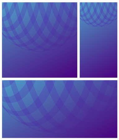Gradient blue violet cell vector background. Design concept modern texture. 矢量图像