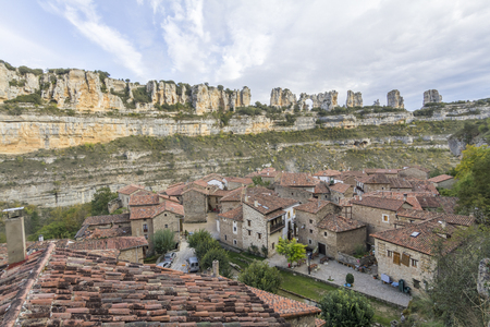Orbaneja del castillo is a small town in the community of Burgos in northern Spain