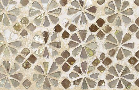 mosaic: mosaic wall