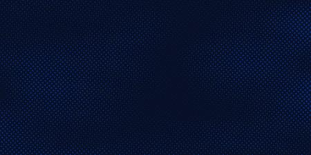 Fondo azul oscuro abstracto con textura azul claro del modelo de semitono. Plantilla de diseño de portada creativa. Ilustración vectorial