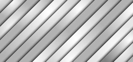 Abstract 3D diagonal black and gray gradient layer and shadow with light line on white texture background with space for your text. Modern luxury. Vector illustration