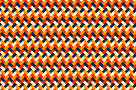 Seamless pattern rectangles weave background and texture. Vector illustration