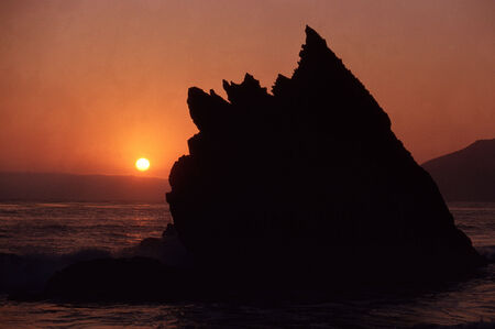 sur: Sunset on Big Sur